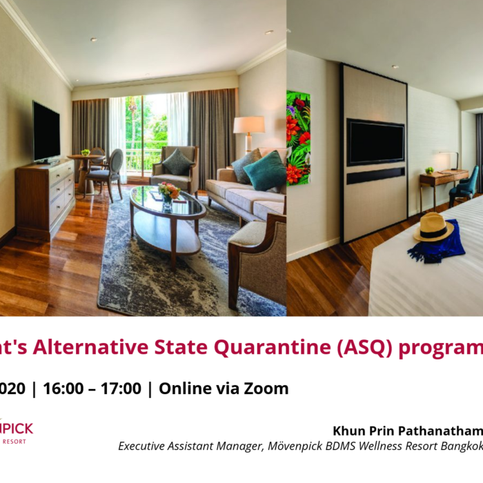 Webinar: Government's Alternative State Quarantine (ASQ) program